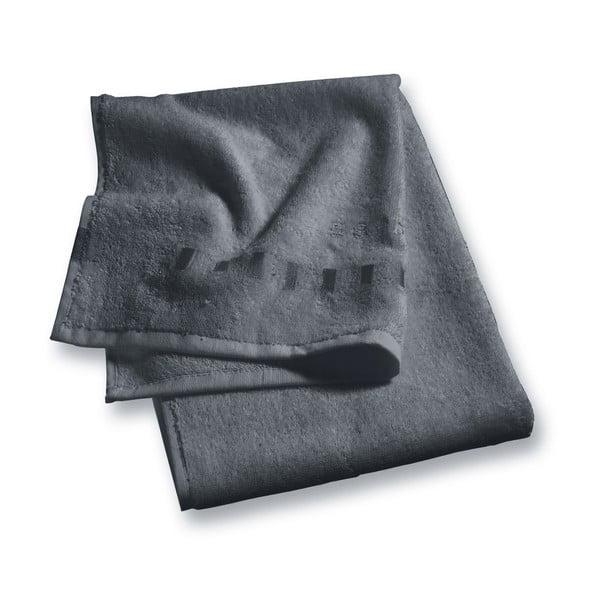 Osuška Esprit Solid 70x140 cm, antracitovo sivá