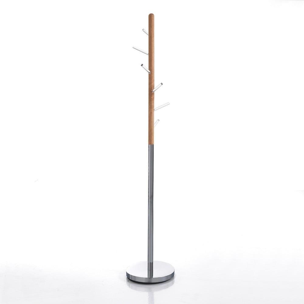Drevený vešiak na kabáty Tomasucci Pin, výška 180 cm