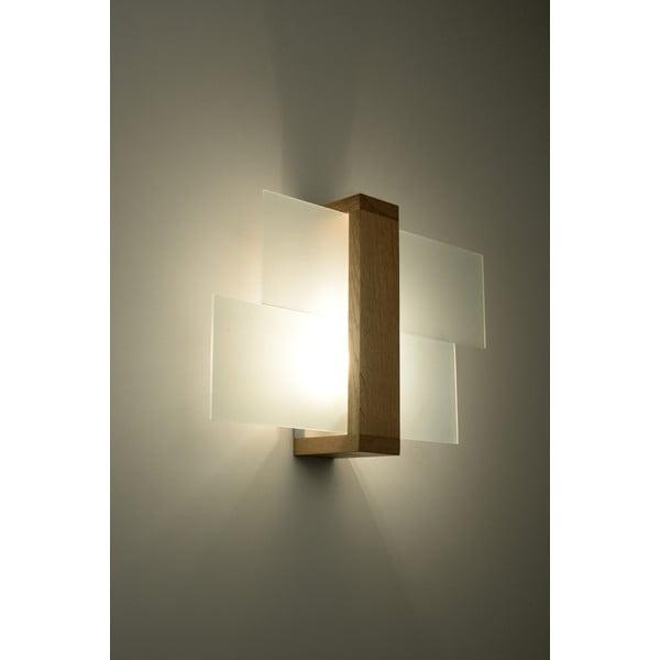 Nástenné svetlo Nice Lamps Leda Natural