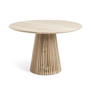 Konferenčný stolík z teakového dreva La Forma Irune, ø 120 cm