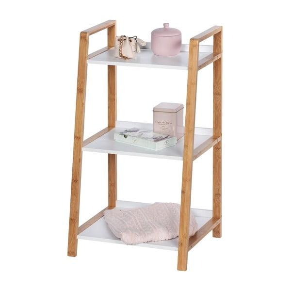 Bambusový kúpeľňový regál s 3 policami Wenko Finja
