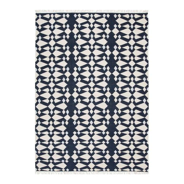 Ručne tkaný koberec Linie Design Andria Midnight, 170x240cm