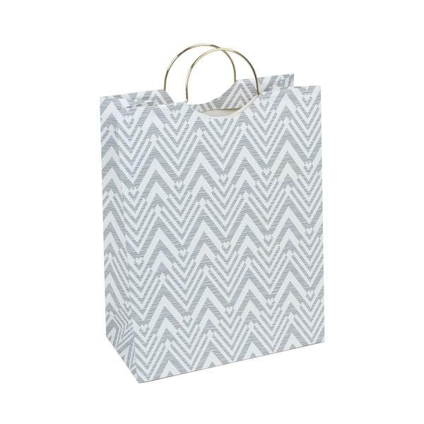 Sivá darčeková taška Tri-Coastal Design Stockholm Bag