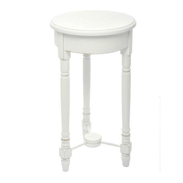 Drevený stolík Paulownia White, 60x35 cm z bistra U Kubistu