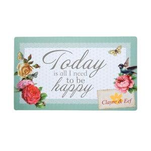 Rohožka To Be Happy, 73x44 cm