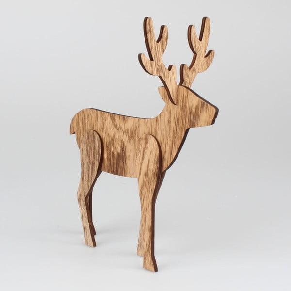 Vianočné dekorácie v tvare jeleňa Dakls Jeremiah, výška 25 cm