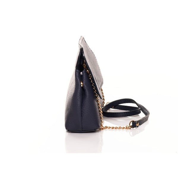 Kožená kabelka Envelope Navy
