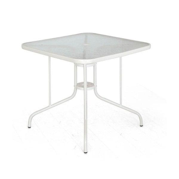 Jedálenský stôl Mirto, biely