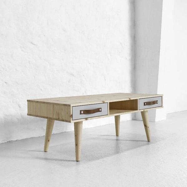 Dve sivé zásuvky do konferenčného stolíka Karup Dance