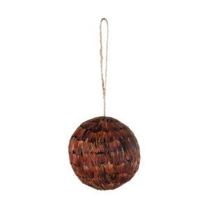 Závesná dekorácia J-Line Feather Ball