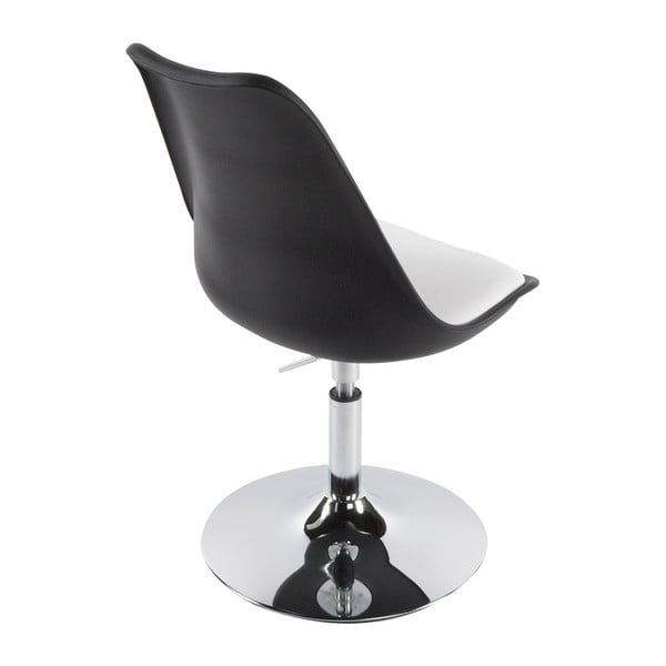 Čierno-biela jedálenská stolička Kokoon Victoria