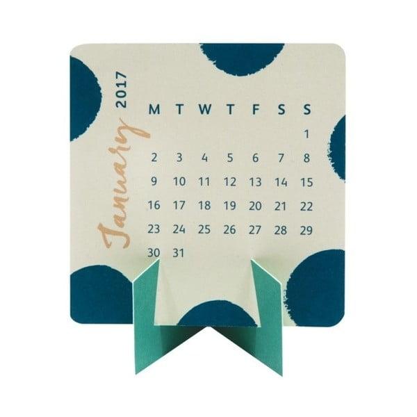 Mini stolový kalendár Busy B Fashion 2017