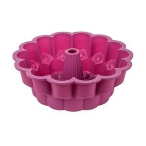 Fuksiovoružová silikónová forma na bábovku Tantitoni It´s a cake, ⌀ 26 cm