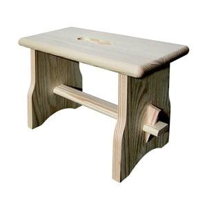Drevená stolička Valdomo Italia, výška 20 cm