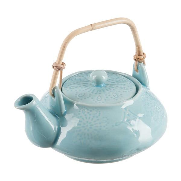 Sada čajových konvičiek a 4 hrnčekov Azzure Blue