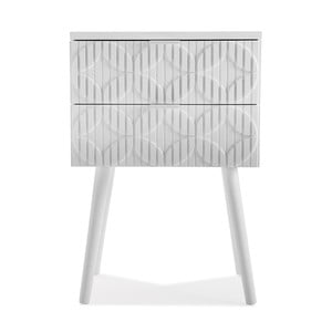 Nočný stolík Versa Sarah, výška 52 cm