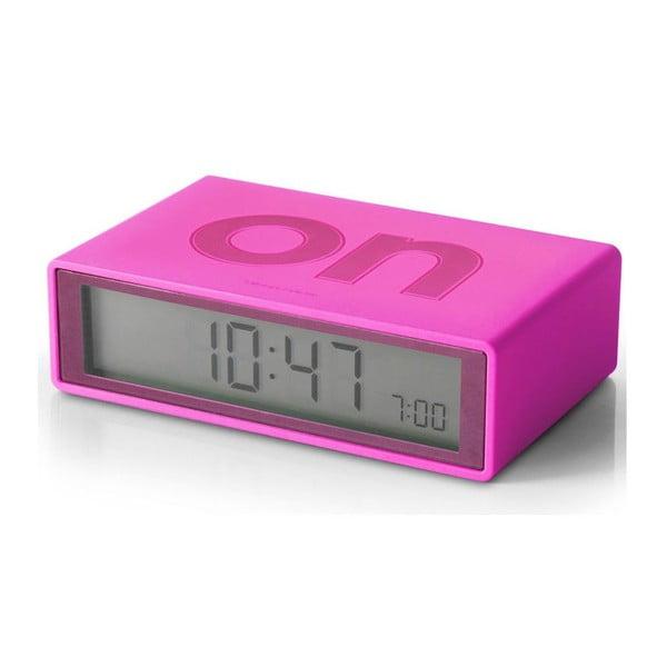Preklápací budík Flip, ružový