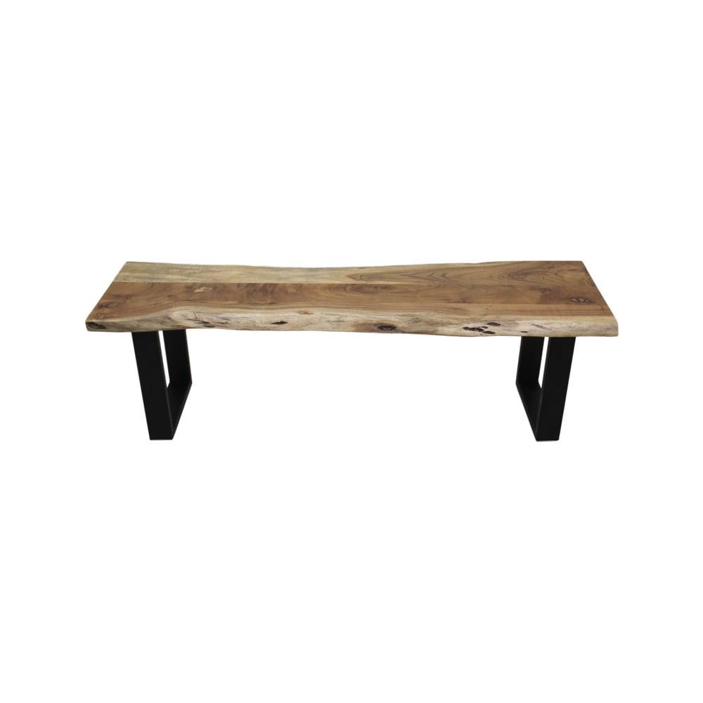 Lavica z dreva a kovu HSM collection SoHo, dĺžka 150 cm
