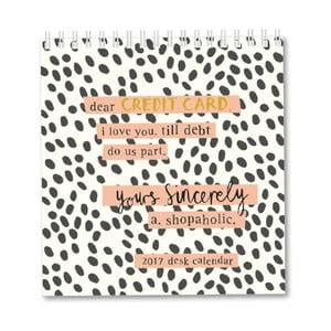Stolový kalendár Portico Designs Sincerely Yours