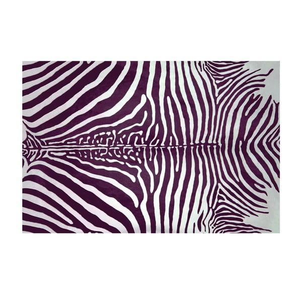 Koberec z vinylu Cebra Lila, 99x120 cm