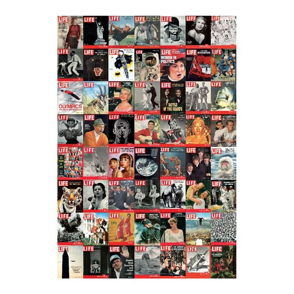 Veľkoformátová tapeta Časopis LIFE, 158x232 cm