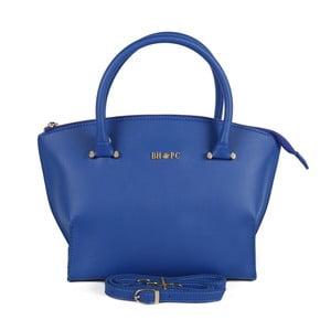 Modrá kabelka z eko kože Beverly Hills Polo Club Zoe