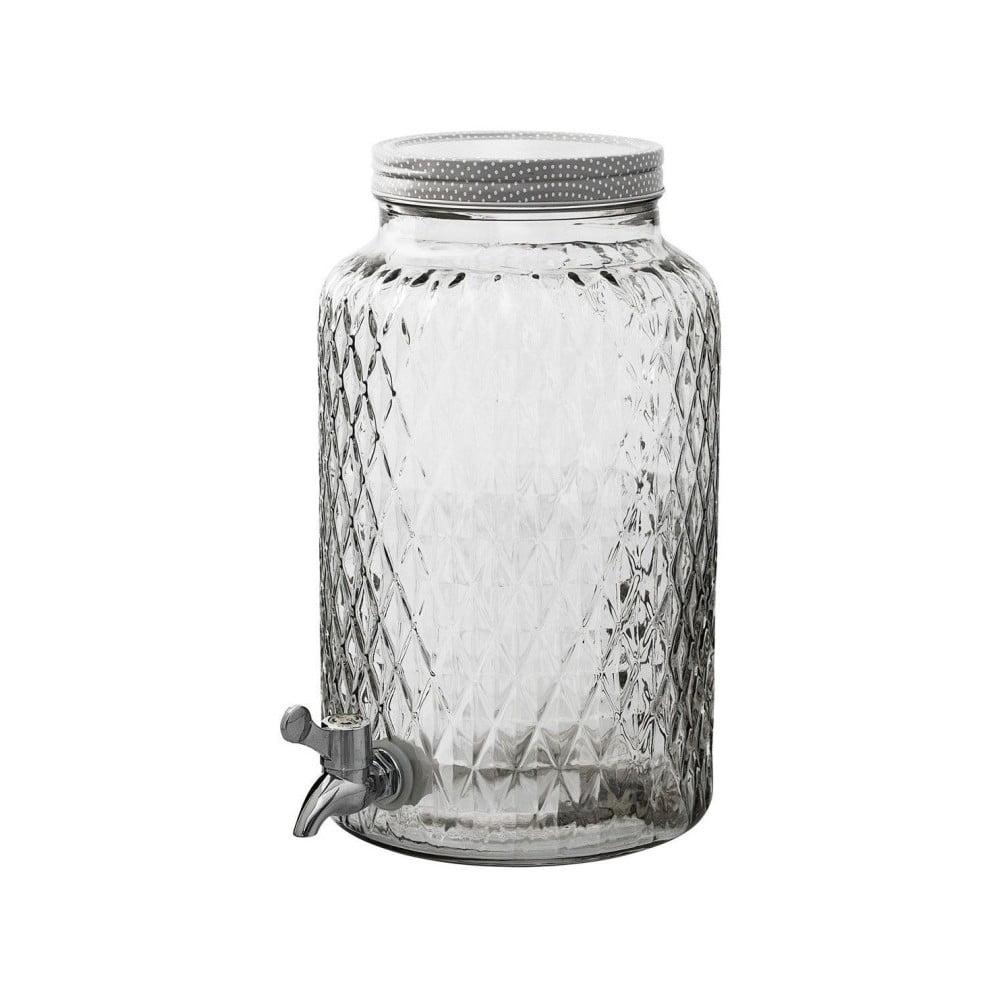 Sklenená nádoba s kohútikom Bloomingville