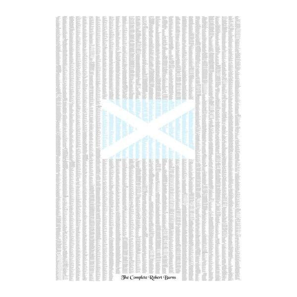 Knižný plagát Básne Roberta Burnsa, 84,1x118,9 cm
