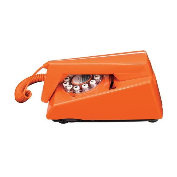 Retro funkčný telefón Trim Orange