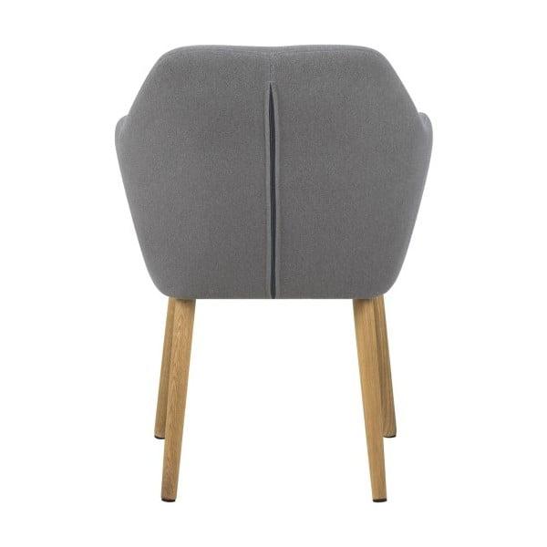 Svetlosivá jedálenská stolička Actona Emilia