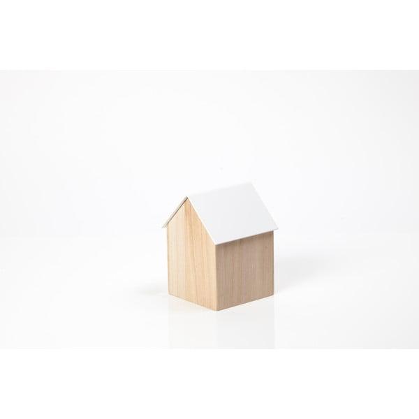 Biely úložný box House Small
