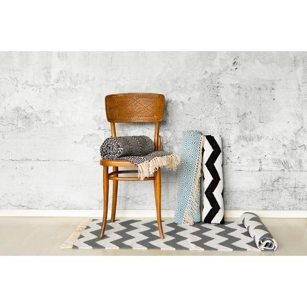 Koberec Solveig Black/White, 70x200 cm z bistra U Kubistu