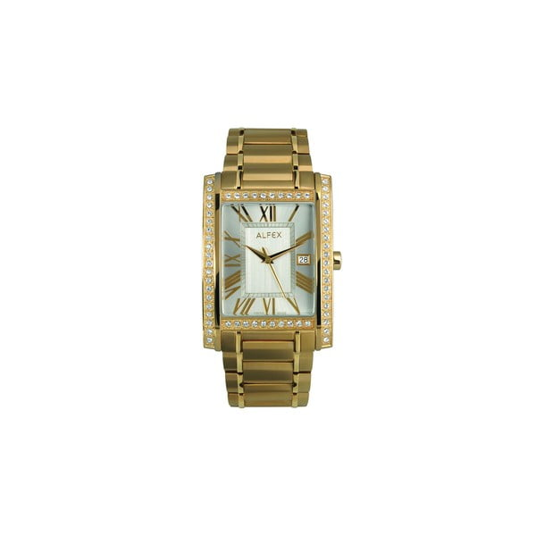 Pánske hodinky Alfex 5662 Yelllow Gold/Yellow Gold