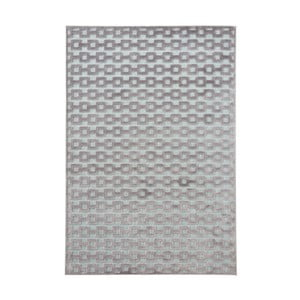 Sivo-modrý koberec Mint Rugs Shine, 80 × 125 cm