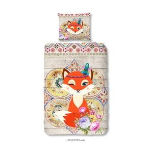 Detské bavlnené obliečky Muller Textiels Foxy, 140×200 cm