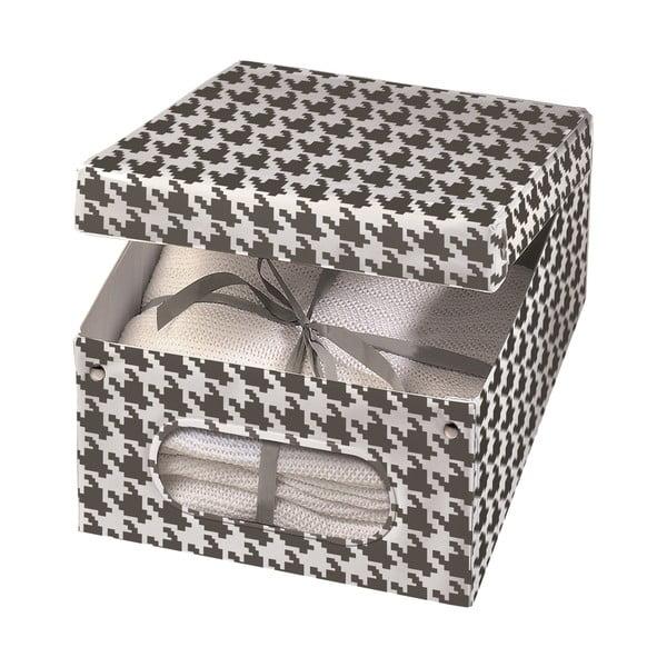 Úložná krabica Pied Poule, 50x40 cm