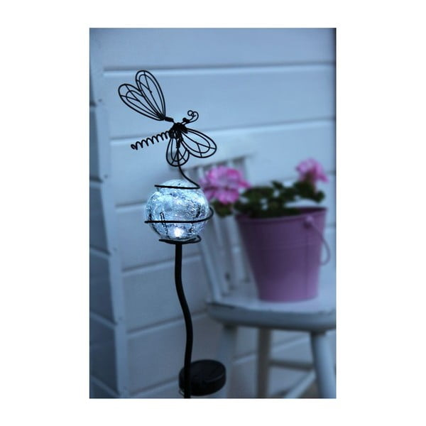 Svetelná záhradná dekorácia Best Season Dragonfly