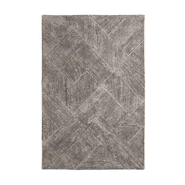Vlnený koberec Balta Taupe, 160x230 cm