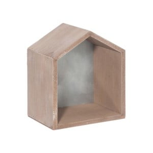 Dekorácia House Grey, 17x20x12 cm