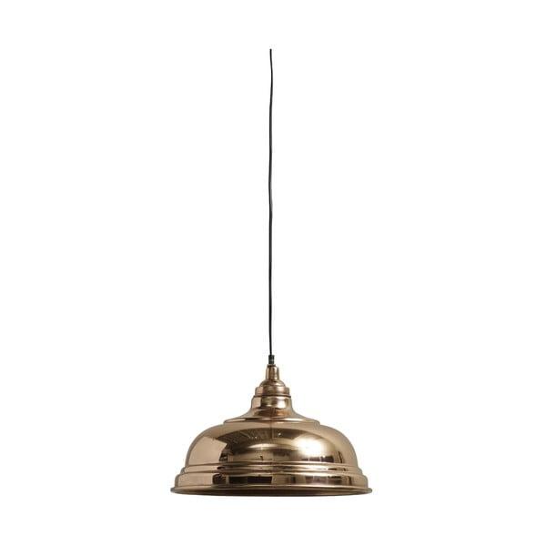 Závesné svietidlo Bell 32 cm, medené