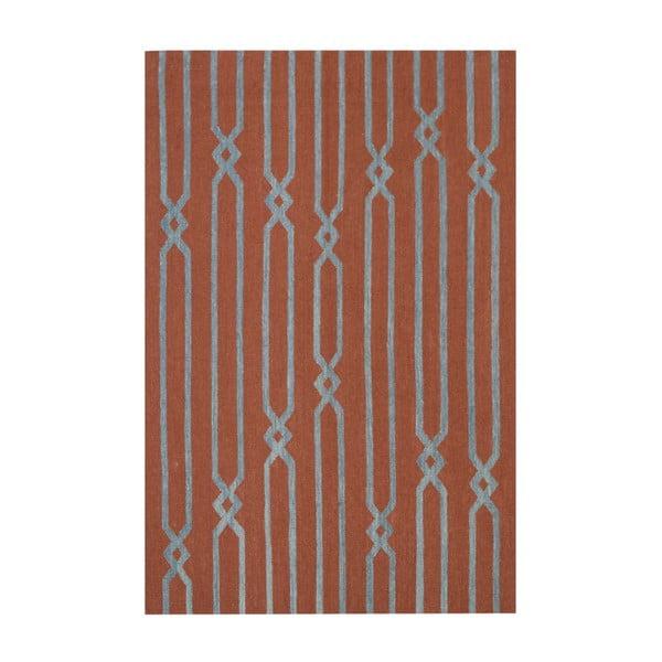 Vlnený koberec Kilim Modern 843, 120x180 cm