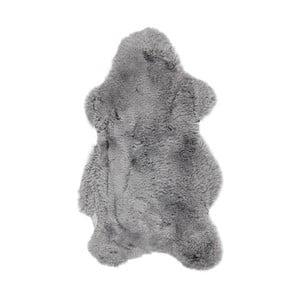 Sivá kožušina s krátkým vlasom Dotonna, 110 x 60 cm