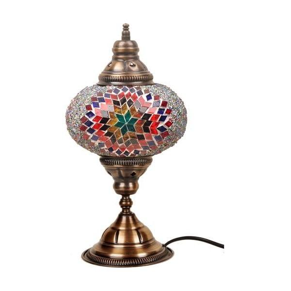 Sklenená ručne vyrobená lampa Persefona, ⌀ 17 cm