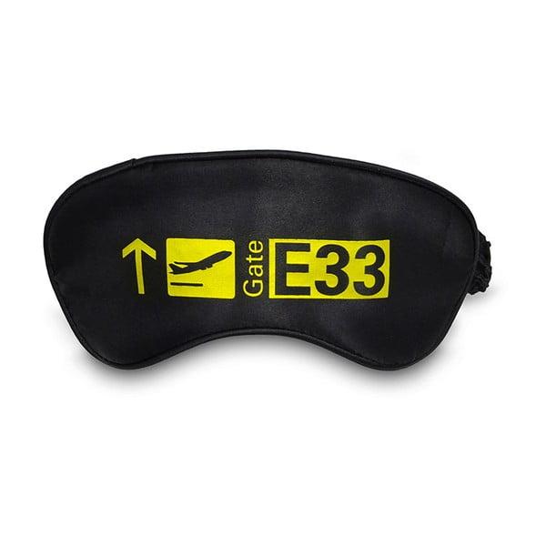 Maska na oči Gate Black and Yellow