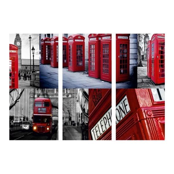 3-dielny obraz Ach, ten Londýn
