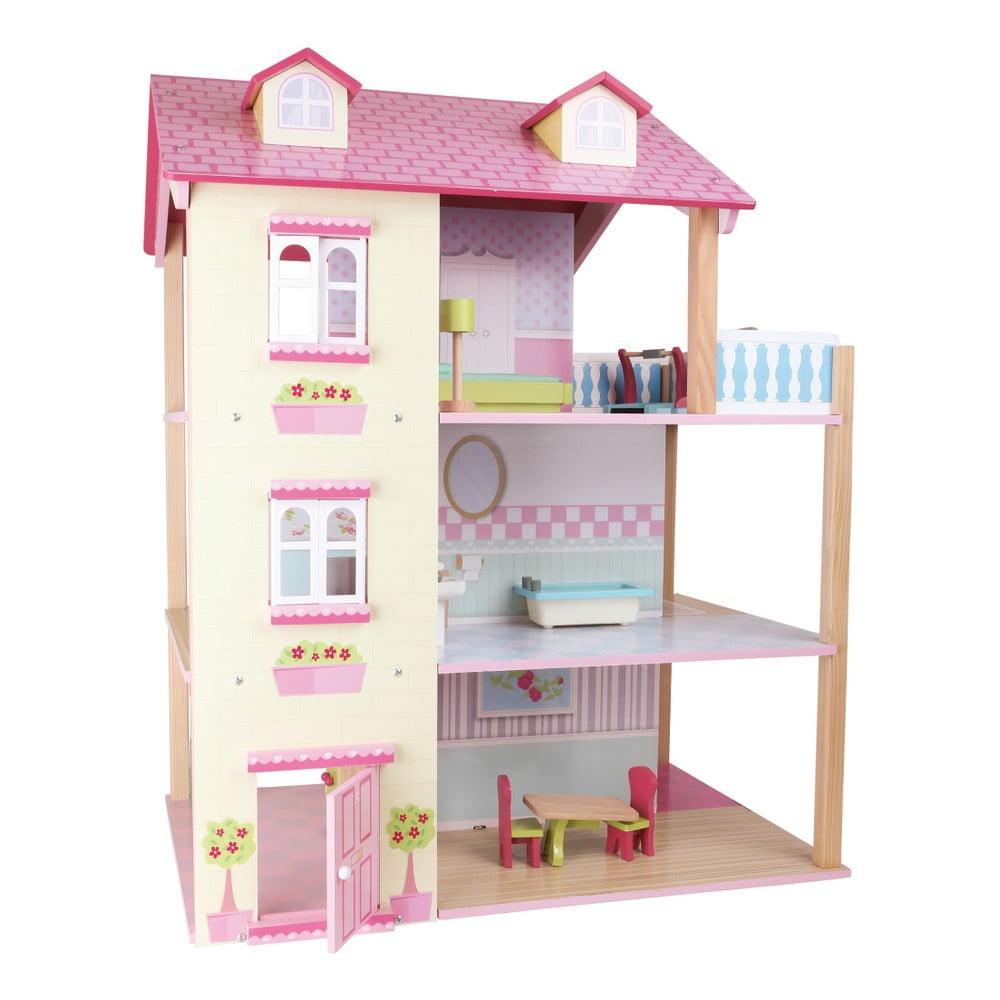 Drevený domček pre bábiky Legler Dolls