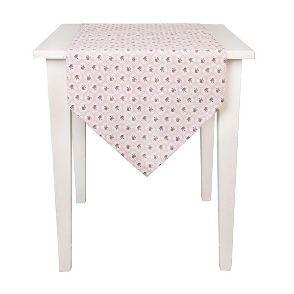 Behúň na stôl Clayre Roses, 50x160 cm