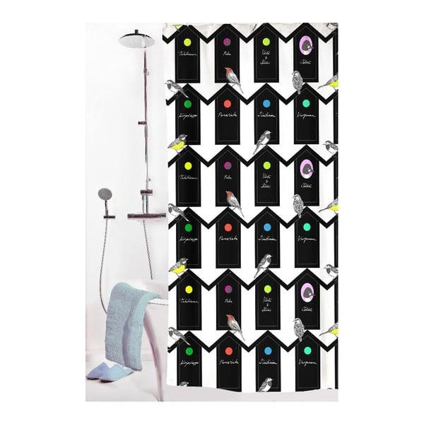 Záves do sprchy Lintukoto, 180x200 cm