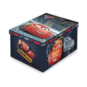 Úložný box na hračky Auta Domopak Cars, 24x39cm