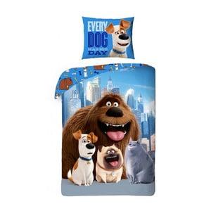 Detské bavlnené obliečky Halantex The Secret Life of Pets Dogs, 140 x 200 cm